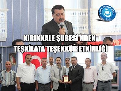 Türk Eğitim-Sen Yöneticileri Kırıkkale'de