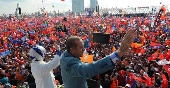 Başbakan'dan 1 milyon kişilik gövde gösterisi