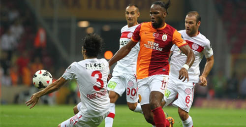 Galatasaray Antalyaspor'u Geçemedi: 1-1