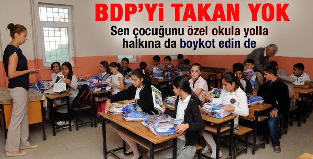 Şırnak Valisi: BDP'nin boykotuna öğrenciler uymadı