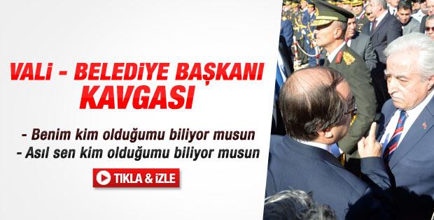 Adana'da Vali ile Başkan Vekili arasında bayrak krizi