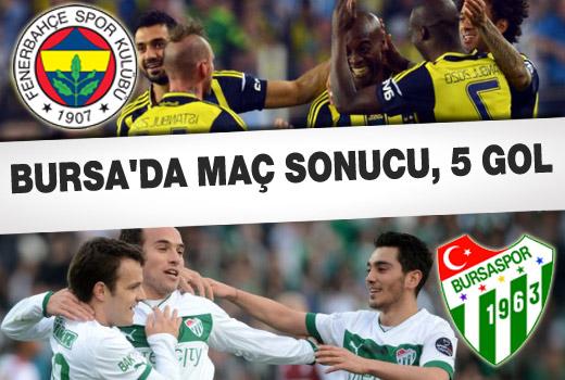 Bursaspor-Fenerbahçe / 2-3