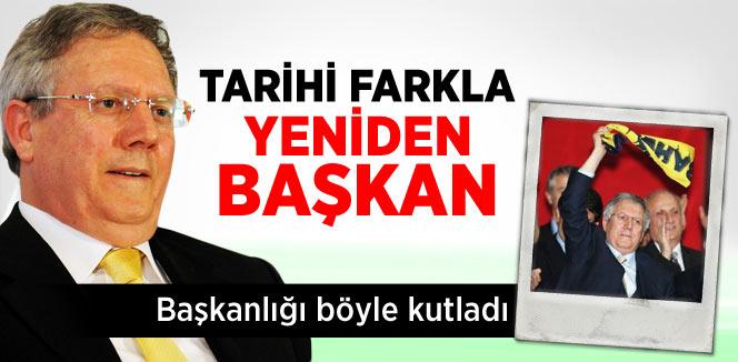 Aziz Yıldırım, Tekrar Fenerbahçe'nin Başkanı Seçildi
