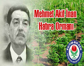 Memur-Sen, Mehmet Akif İnan Hatıra Ormanı Kuracak