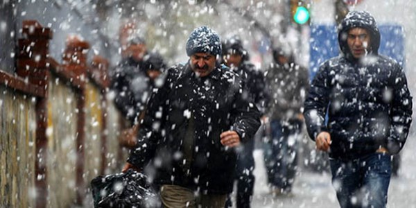 Kar yağışı geliyor - Haritalı