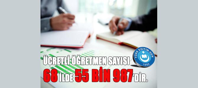 Türkiye'de Kaç Ücretli Öğretmen Çalışıyor?