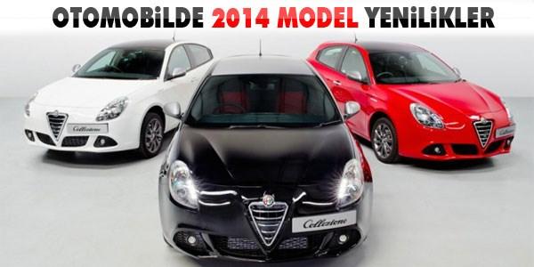 Otomobilde 2014 model yenilikler