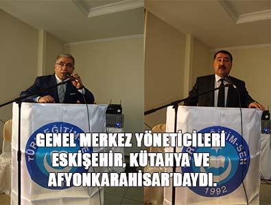 TES Yöneticileri Eskişehir, Kütahya ve Afyonkarahisar'da