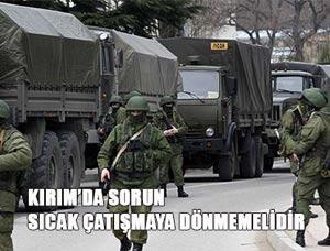 Kırım'da Çatışma Olmasın