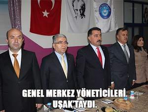 Türk Eğitim-Sen Yöneticileri Uşak'ta