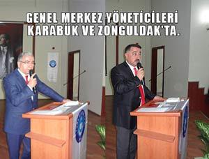TES Yöneticileri Karabük ve Zonguldak'ta