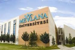 Mevlana Üniversitesi Öğretim Üyesi alım ilanı