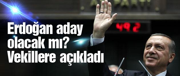 Erdoğan Köşk'e çıkarsa bunu yapacak