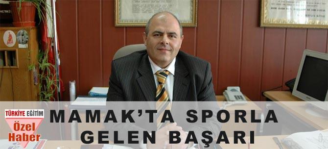 Mamak'ta Sporla Gelen Başarı