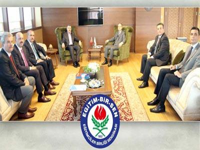 Gençlik ve Spor Bakanı Kılıç'a Ziyaret