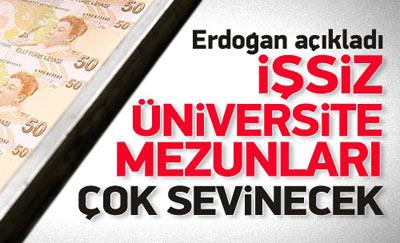 Erdoğan'dan öğrenim kredisi ve harç müjdesi