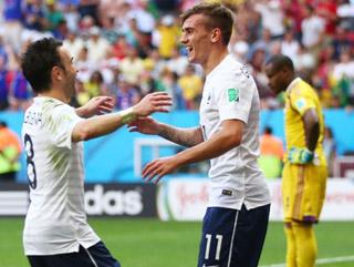 Dünya Kupası'nda Fransa Nijerya'yı eledi