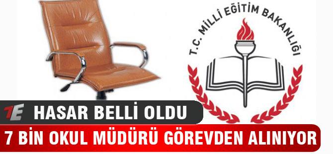 7 Bin Okul Müdürü Görevden Alınıyor