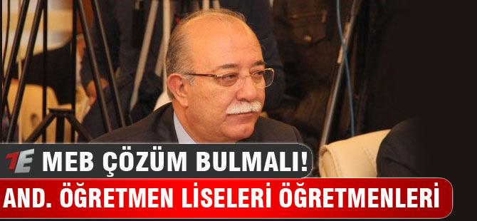 Anadolu Öğretmen Lisesi Öğretmenleri Yok Sayılıyor