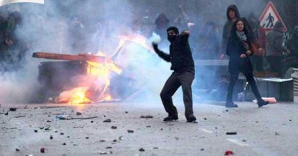 ODTÜ'de polis ve öğrenciler arasında gerginlik
