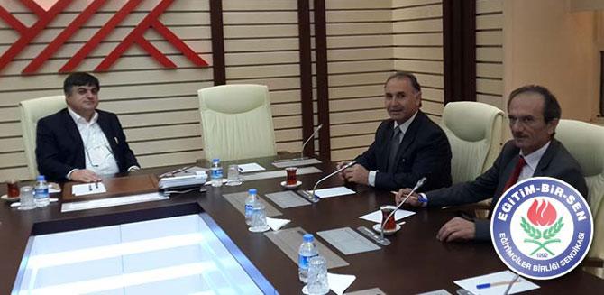 Ahmet Özer ve Çetinsaya buluşması