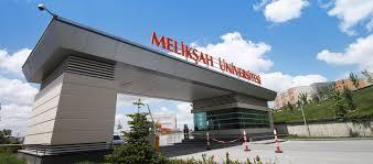 Melikşah Üniversitesi Öğretim Üyesi alım ilanı