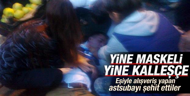 Diyarbakır'da saldırıya uğrayan astsubay şehit oldu