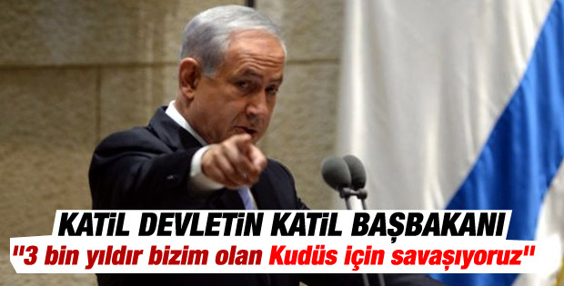 Yahudilerin başkenti Kudüs için savaşıyoruz