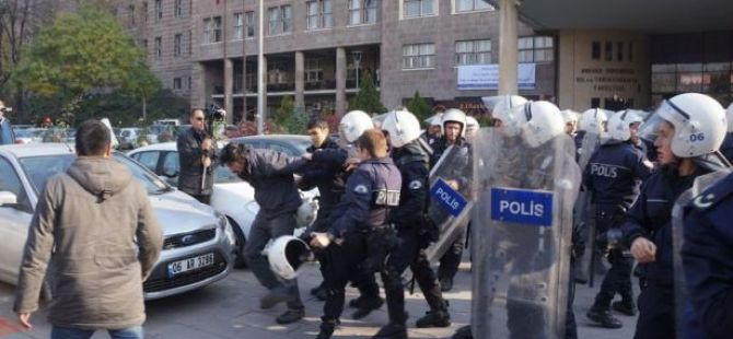 Ankara Üniversitesi karıştı