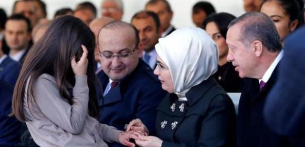 Taner Yıldız'ın kızından Erdoğan'a sürpriz