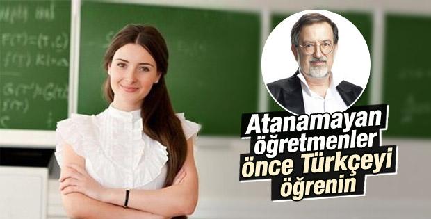 Murat Bardakçı'dan atanamayan öğretmenlere tepki
