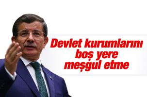 Kılıçdaroğlu'nun MİT iddiasına Davutoğlu'ndan sert yanıt
