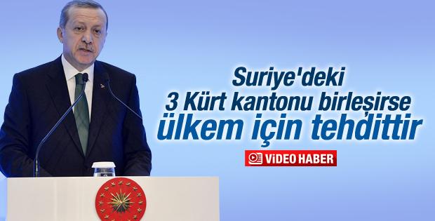 Cumhurbaşkanı Erdoğan'dan Kobani çıkışı