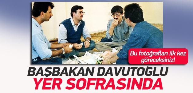 Ahmet Davutoğlu'nu böyle görmediniz