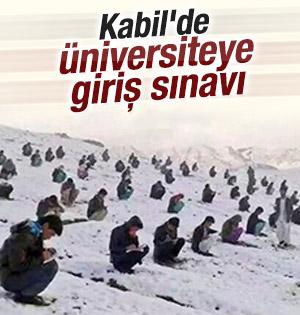 Kabil'deki üniversiteye giriş sınavı