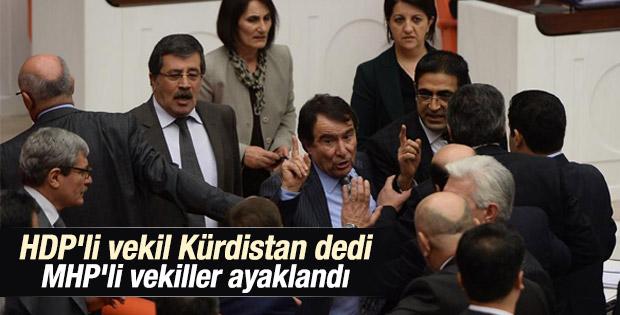 Meclis'te Kürdistan tartışması
