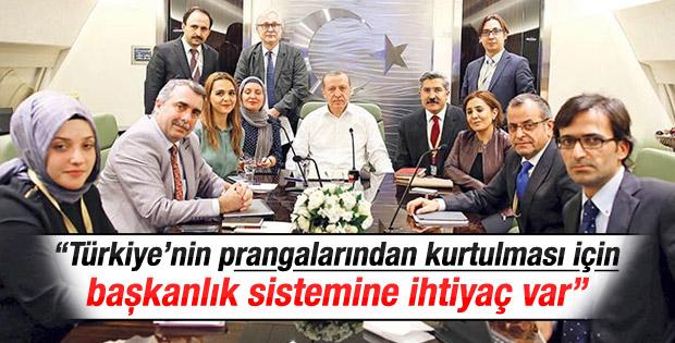 Türkiye'nin başkanlık sistemine ihtiyacı var