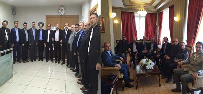 Ahmet Özer ve Arkadaşları, Adana ve Mersin Teşkilatları İle Buluştu