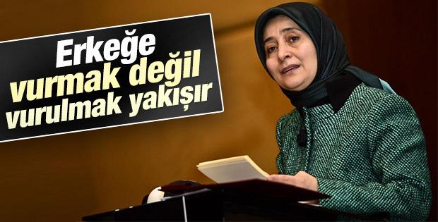 Sare Davutoğlu'ndan kadına şiddete karşı ders gibi sözler
