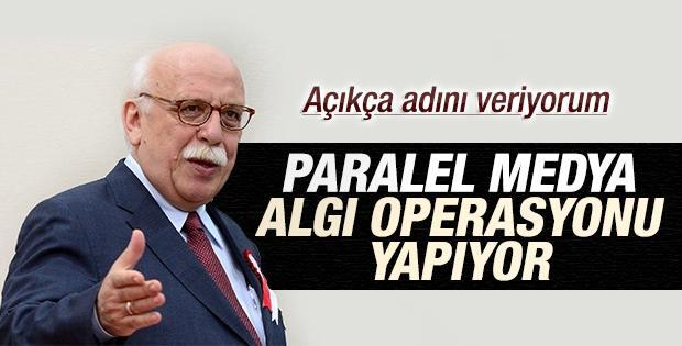 Nabi Avcı: Paralel medya algı operasyonu gerçekleştiriyor