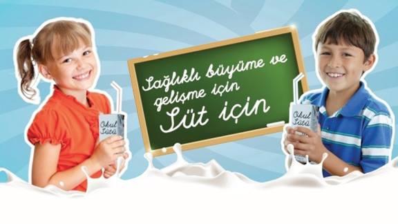 """""""Okul Sütü Programı"""" yeniden başlıyor"""