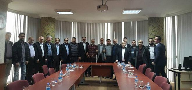 Ahmet Özer; Batı Karadeniz Teşkilatlarıyla Buluştu