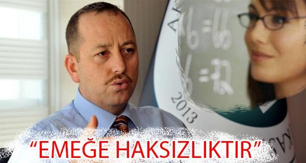 Osman Bahçe'den Ücretli Öğretmenlik Açıklaması