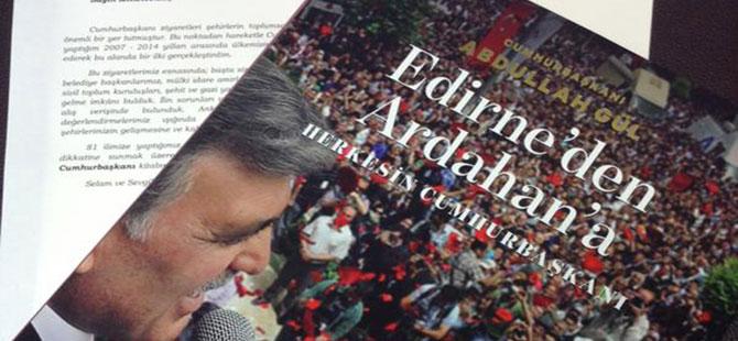 11. Cumhurbaşkanı Gül'den Vekillere Albüm