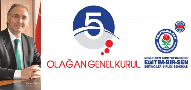 Genel Kurul'da Ahmet Özer Damgası