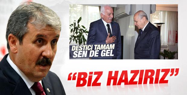 MHP BBP ve Saadet Partisi çatısı geliyor