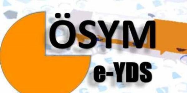 e-YDS - 2015/3 başvuruları başlıyor