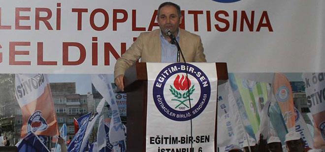 Hasan Yalçın Yayla, İstanbul 6 No'lu Şube Toplantısında