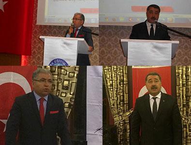 Türk Eğitim-Sen Yöneticileri Osmaniye ve Hatay'daydı