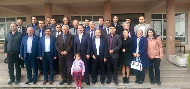 Genel Başkan Ali Yalçın'nın İlk Okul Ziyareti